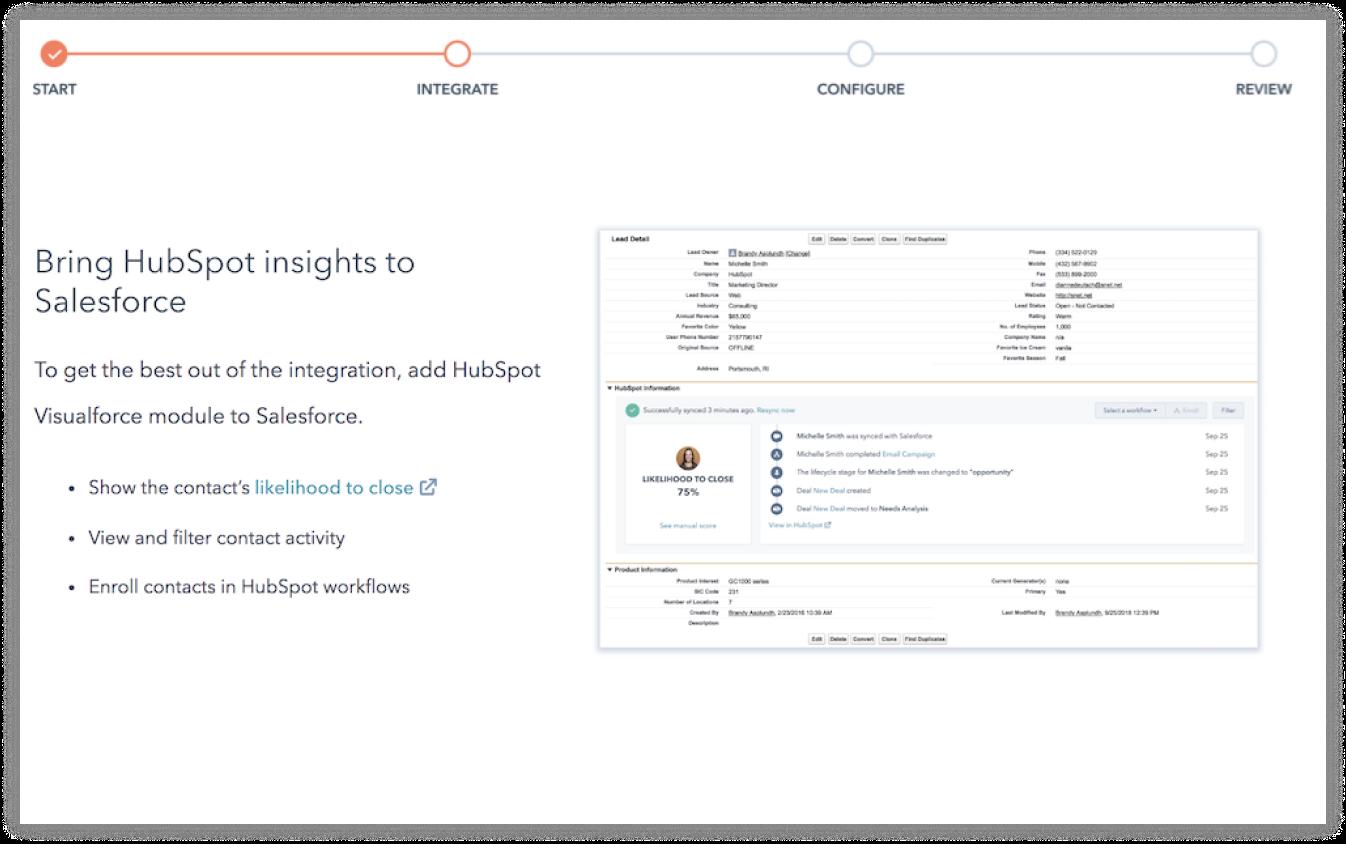 Report-Salesforce Integration